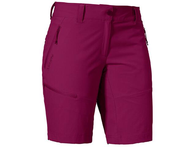 Schöffel Toblach2 Pantalones cortos Mujer, beet red